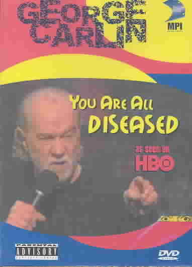 GEORGE CARLIN:YOU ARE ALL DISEASED BY CARLIN,GEORGE (DVD)